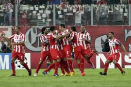 El Olympiakos frena en seco al Atlético