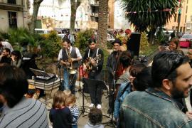 Música swing en el Blue Jazz Club con Long Time No Swing