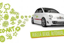 Autovidal en la Nit de l'Art 2014 con 'La Huella Verde'