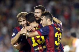 El Barça vence por la mínima al APOEL