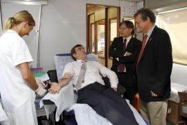 Las donaciones de sangre han aumentado un 13 por ciento en Balears