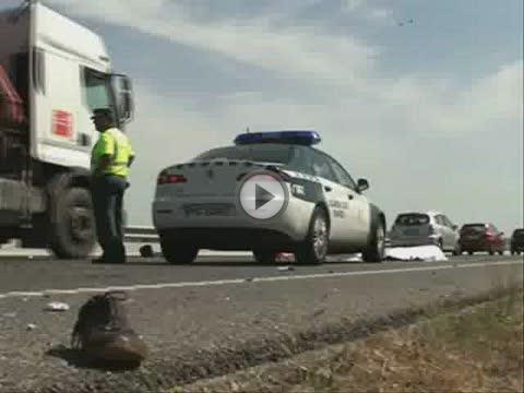 Fallece un motorista de 49 años al chocar contra un camión en s'Aranjassa