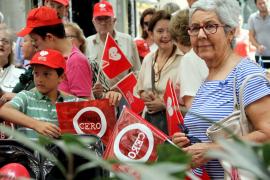 Decenas de personas se concentran en Palma para reclamar que «proteja la vida»