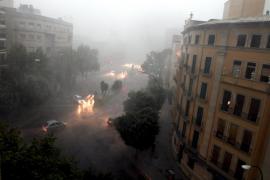 La Aemet alerta, habrá intensas lluvias en el Mediterráneo a partir de este domingo