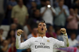 Un gigantesco Cristiano confirma la reacción