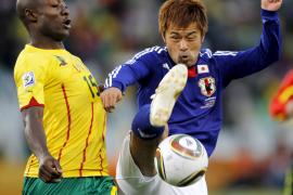 Japón sorprende al Camerún de Webo y Eto'o (1-0)