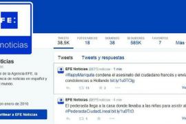 Efe 'tuitea' por error la etiqueta #Rajoymariquita y se convierte en 'trending topic'