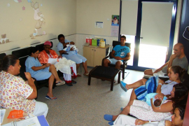 Gran participación en el programa de formación de madres lactantes del hospital de Inca