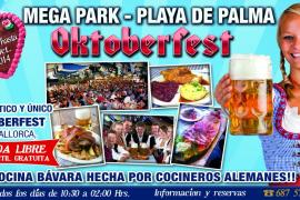 La Platja de Palma vive su particular Oktoberfest