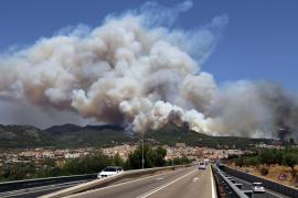 El Govern ejercerá de acusación particular en la causa del gran incendio de Andratx