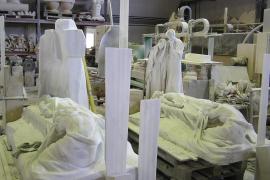 Escultura de Llimona en Sóller
