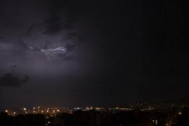 La posibilidad de fuertes tormentas pone a Mallorca en alerta naranja