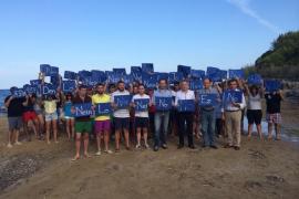 Bauzá participa en un acto contra las prospecciones en Eivissa