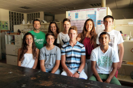 Alumnos del IES Felanitx son premiados en el concurso «Ciencia en Acción»