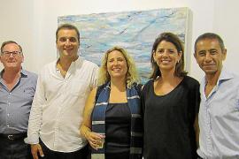 Maria Colom expone en la galería Espai d'Art 32 de Pollença
