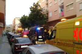 Una mujer fallece al precipitarse desde un tercer piso en Palma