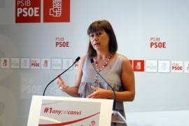 Armengol: «Ni el propio Rajoy cree en Bauzá»