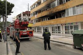 Un incendio obliga a desalojar una guardería en Palmanova