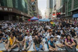 Ultimátum de los estudiantes al gobernador de Hong Kong