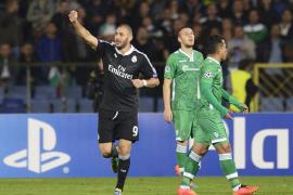 Benzema salva los muebles para el Real Madrid