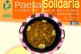 2ª Paella Solidaria a beneficio de la Fundación UNES