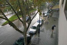 Tromba de agua en Palma