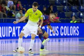 El Barça ofrece su mejor nivel ante el Palma Futsal