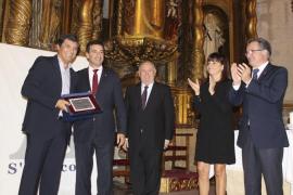 Toni Nadal recibe la A d'Or de s'Agrícola