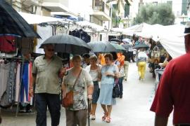 Domingo con tormentas en Balears