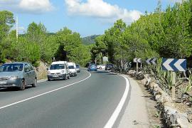 El Consell eliminará el punto negro de la vía a Portocolom