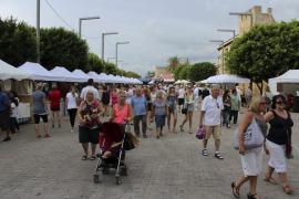 Alcúdia exhibe su talento en la Feria de Octubre