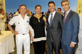 Cóctel del Consulado de Francia en la fragata Chevalier Paul