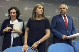 Mercedes Vinuesa, Ana Mato y Antonio Alemany