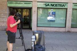 Atracan a mano armada una oficina de Sa Nostra en el Paseo Mallorca