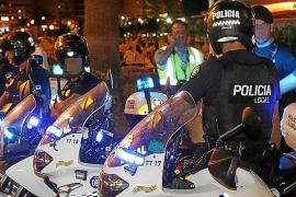 Altercado entre la Policía Local y el CNP en la Platja de Palma