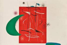 Miró se expone en la estación de Palma del Ferrocarril de Sóller
