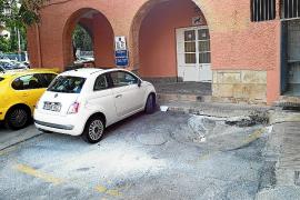 La plaza del Mercat de Sóller se queda sin reforma