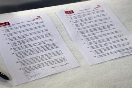 El PSOE prohíbe regalos de más de 60 euros  y obliga a viajar con la tarifa «más económica»