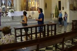 La iglesia de Andratx abre por un día