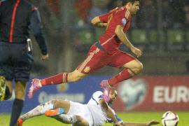 Diego Costa se estrena con España, que reacciona con goleada