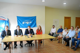 La cúpula del PP de Andratx defiende la gestión de Suau y matiza su imputación en el 'caso Sant Elm'