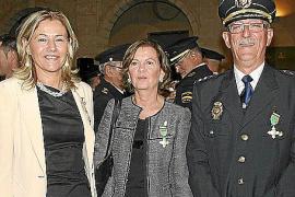 Patrón de la policía nacional