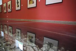 Un Miró muy mediterráneo se expone en el Ferrocarril de Sóller