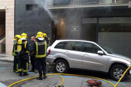 Incendio en el Instituto de Medicina Legal de Palma