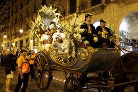 El Consell gasta 6.000 euros en la restauración del carro triunfal de Santa Catalina Tomàs
