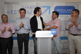 Candidatos del PP de Alaró y Lloseta