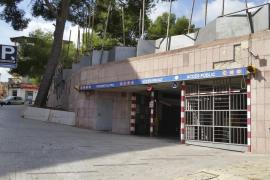 Cierran el aparcamiento público de la plaza Mallorca de Inca por falta de corriente