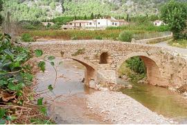 Peligra el entorno paisajístico del Pont Romà de Pollença