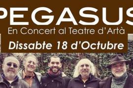 Pegasus actúa en el Teatre d'Artà