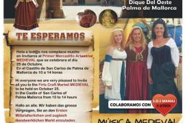 Mercadillo Artesanal Medieval en Sant Carles